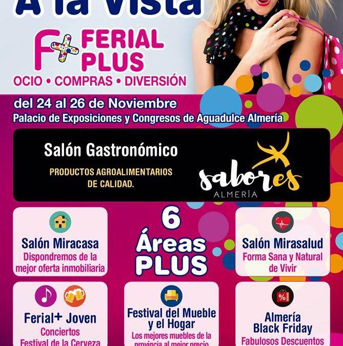 Ferial Plus Almería, del 24 al 26 de Noviembre 2017